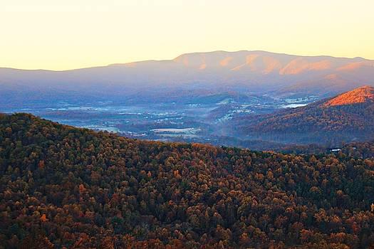 Autumn Mountains  by Candice Trimble