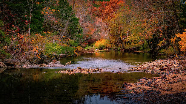 Autumn on Brushy Creek by Allin Sorenson