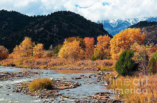 Autumn on the Arkansas River by Steve Krull