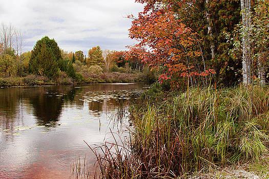 Autumn on the Lake by Karen Varnas