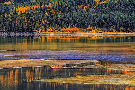 Autumn Orange Reflections by Dan Sproul