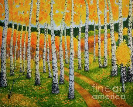 Autumn pathway 2 by Veikko Suikkanen