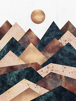 Autumn Peaks by Elisabeth Fredriksson
