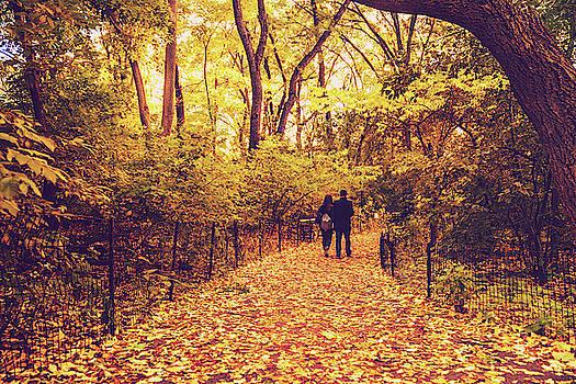 Autumn Romance - New York City by Vivienne Gucwa