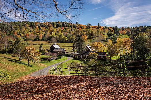 Autumn Sleepy Hollow Farm Vermont 2018 by Terry DeLuco
