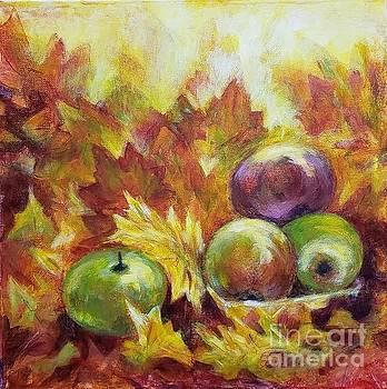 Autumn still life by Olga Malamud-Pavlovich