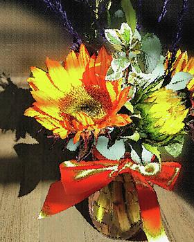 Irina Sztukowski - Autumn Sunflowers
