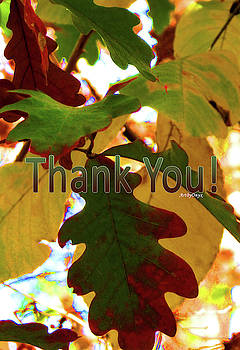 Autumn Thank You by Art By ONYX