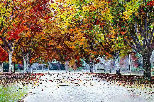 Autumn Trees by Pennie McCracken