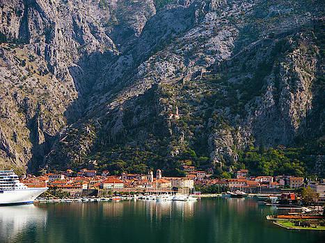 Autumn View of Kotor, Montenegro by Rae Tucker