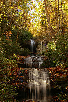 Autumn Waterfall Fort DeSoto 1 by Kelly Kennon