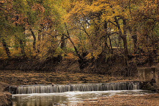 Autumn Waterfall by Scott Bean