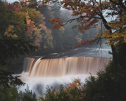 Autumn Waterfall by Tailor Hartman