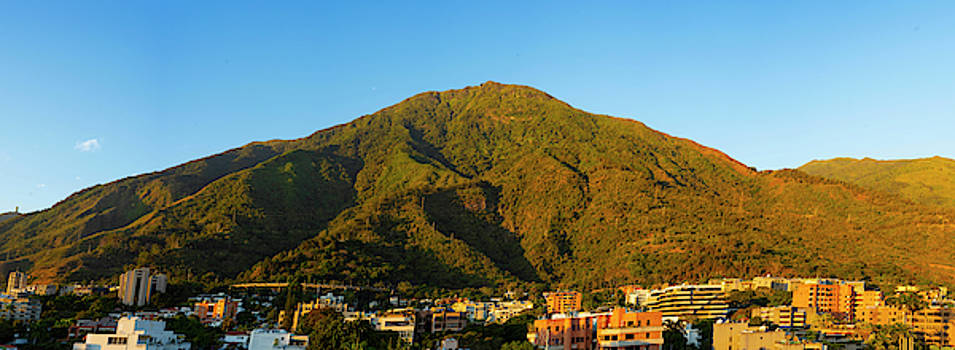 Avila mountain National Park of Caracas city by Eugenio Opitz