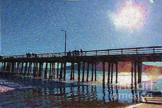 Avila Pier Painted by Katherine Erickson