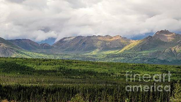 Awe-Inspiring View - Alaska by Jan Mulherin