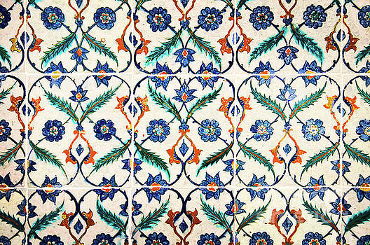 Azulejos in Istanbul by Delphimages Photo Creations