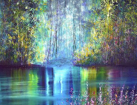 Azure Reflections by Ann Marie Bone