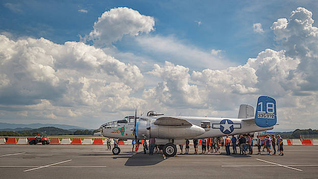 B-25 Maid in the Shade by Greg Booher