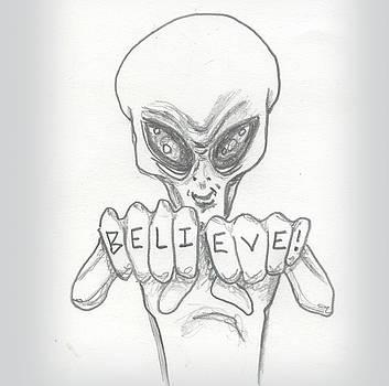 B-e-l-i-e-v-e by Similar Alien