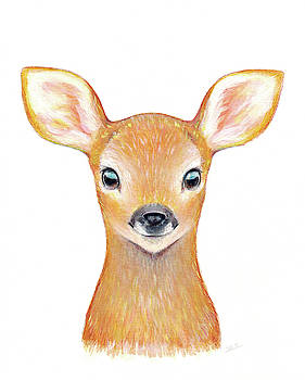 Baby Deer  by Theresa Stites