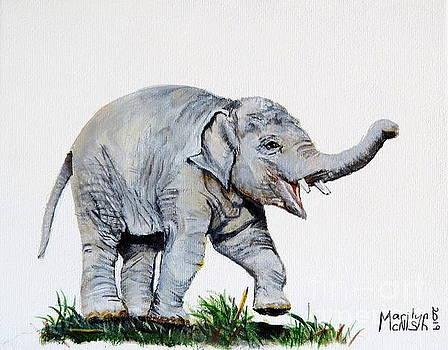 Baby Elephant by Marilyn McNish