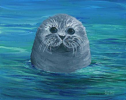 Darice Machel McGuire - Baby Monk Seal