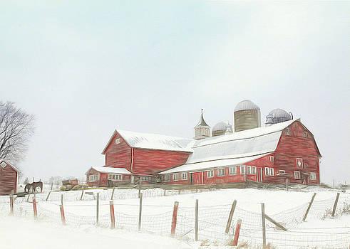 Back Road Barn by Sharon Batdorf
