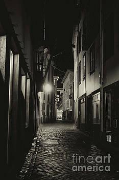 Back Street in Funchal by Lynn Bolt