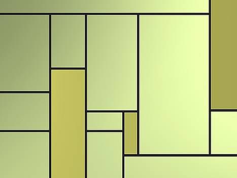 Backlight of geometric compoitions by Alberto RuiZ