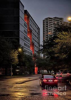 Backstreet of Twenty Greenway Plaza by Norman Gabitzsch