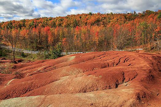 Gary Hall - Badlands in Autumn