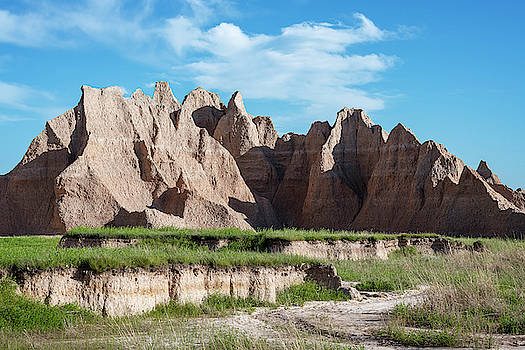 Badlands National Park Hiking by Joan Carroll