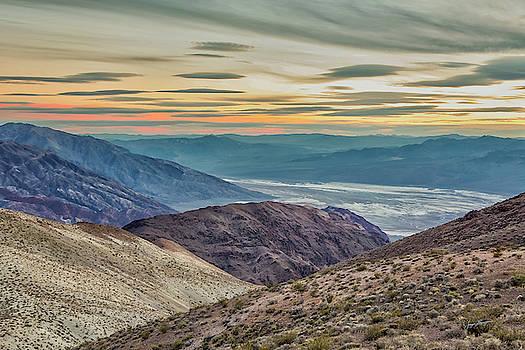 Badwater Basin Sunset by Jurgen Lorenzen