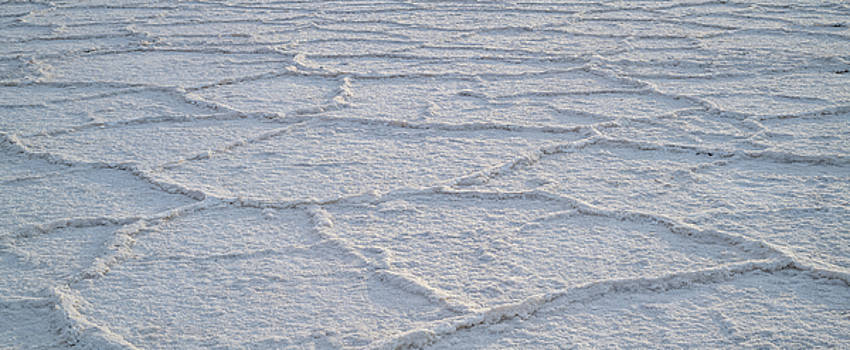 Badwater Basin Salt Flats Death Valley National Park CA by Steve Gadomski