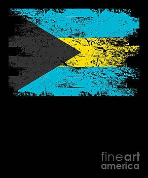 Bahamas Flag Gift Country Patriotic Travel Shirt Americas Light by J P