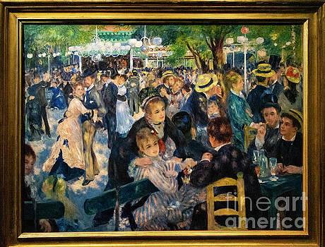 Wayne Moran - Bal du moulin de la Galette Renoir dOrsay Paris France