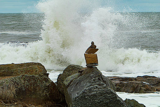 Balancing Act between a Rock and a Hard Place by Jeff Folger