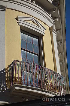 Susan Carella - Balcony and Beads - New Orleans