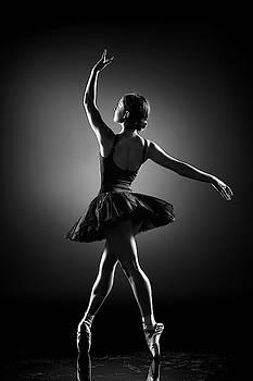 Ballerina dancing by Johan Swanepoel
