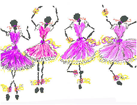 Ballerinas by Steve Clarke