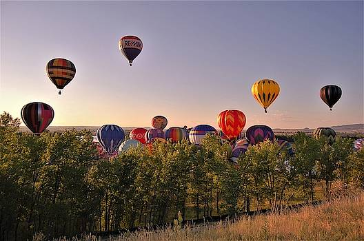 Balloon Festival 2 by Christopher James