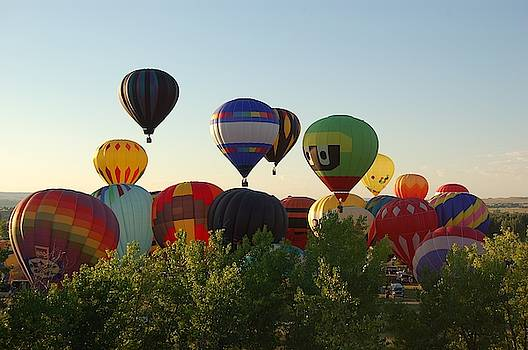 Balloon Festival 4 by Christopher James