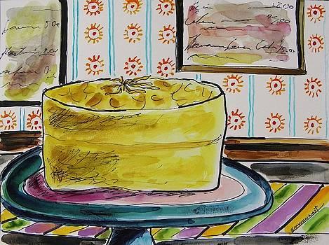 Banana Lemon Layer Cake by John Williams