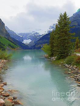 Banff National Park Alberta Canadian Rockies Lake Louise by Art Sandi