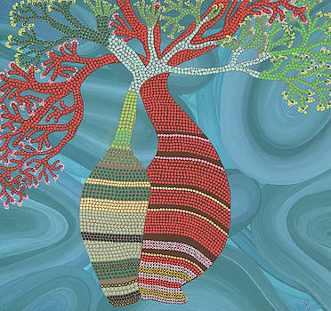 Baobab Embrace by Ica Pavon
