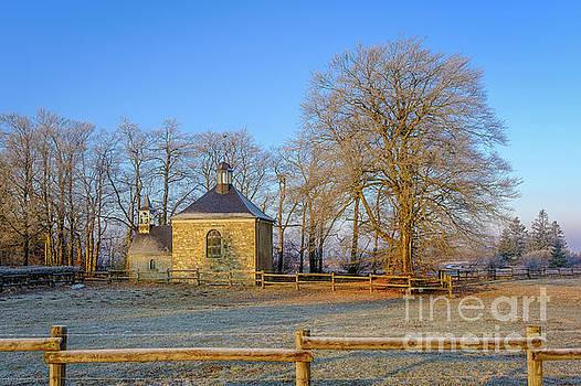 Baraque Michel, chapel Fischbach by Johan Vanbockryck