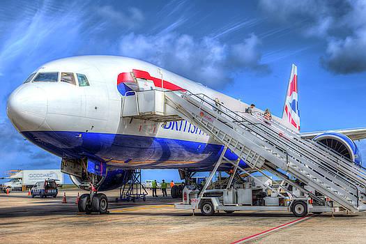 Barbados British Airways by David Pyatt