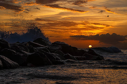 Barbados Sunset by Alma Danison
