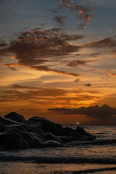 Barbados Sunset Clouds by Alma Danison